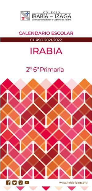Irabia-Calendario-de-Educación-Primaria-2021-2022