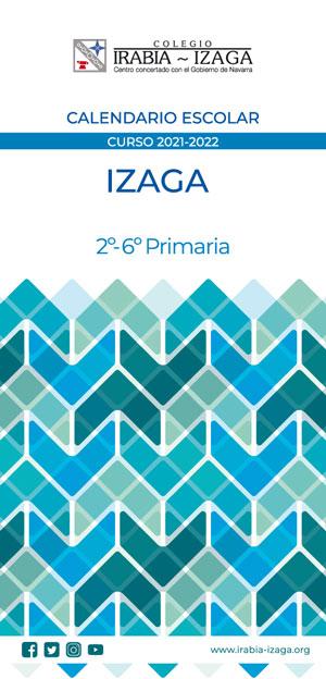 Izaga-Calendario-de-Educación-Primaria-2021-2022